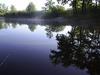 poranek nad wodą